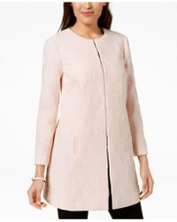 Alfani - Textured A-line Jacket, Created For Macy's - Lyst