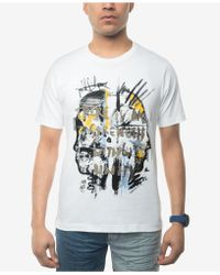 Sean John - Men's No Strength Without Untiy Embroidered Graphic-print T-shirt - Lyst