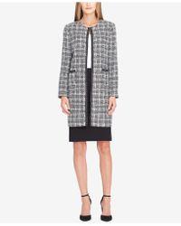 Tahari - Bouclé Chain-trim Skirt Suit - Lyst