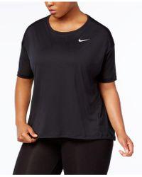 Nike | Plus Size Dry Miler Tank Top | Lyst