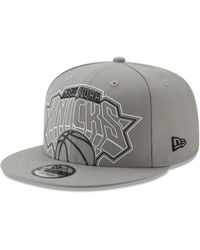 separation shoes 9a742 9c48e KTZ New York Knicks Jock Tag 9fifty Snapback Cap in Blue for Men - Lyst