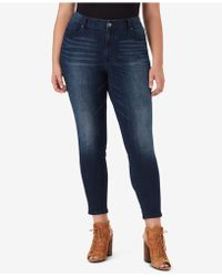 Jessica Simpson - Trendy Plus Size Curvy High Rise Skinny Jeans - Lyst