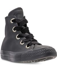 c174f4978fa3 Converse - Chuck Taylor Big Eyelets High Top Casual Sneakers From Finish  Line - Lyst