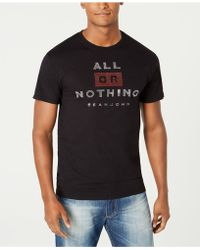 Sean John - All Or Nothing Studded Graphic T-shirt - Lyst