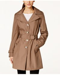 CALVIN KLEIN 205W39NYC - Single-Breasted Water-resistant Trench Coat - Lyst