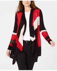 INC International Concepts - I.n.c. Colorblocked Open Cosy, Created For Macy's - Lyst