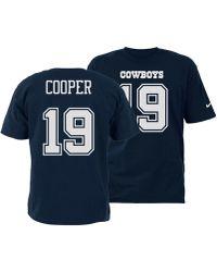 Nike - Amari Cooper Dallas Cowboys Pride Name And Number Wordmark T-shirt -  Lyst e30def153