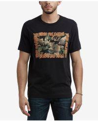 True Religion - Mixed Logo T-shirt - Lyst