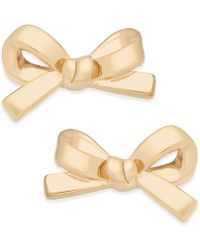 Kate Spade | Bow Stud Earrings | Lyst