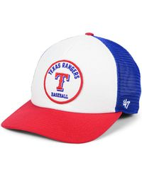 first rate 6f88c 142e7 47 Brand Texas Rangers Cardinal Mvp Cap in Red for Men - Lyst