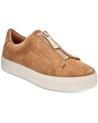 Frye - Women's Lena Zipper Sneakers - Lyst