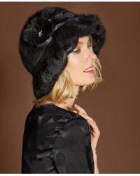 The Fur Vault - Rosette Mink Hat - Lyst
