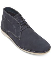 Kenneth Cole Reaction - Passage Suede Boots - Lyst