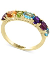 Effy Collection - Mosaic By Effy® Multi-gemstone Statement Ring (1-9/10 Ct. T.w.) In 14k Gold - Lyst