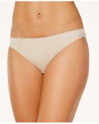 Charter Club - Pretty Cotton Bikini - Lyst