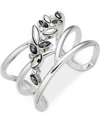 INC International Concepts - I.n.c. Multi-stone Flower Cuff Bracelet, Created For Macy's - Lyst