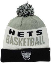 969ad4ffb4e Lyst - Adidas Brooklyn Nets Cuff Knit Hat in Gray for Men