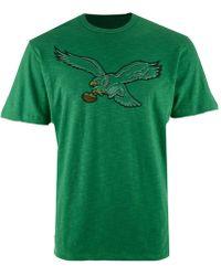 47 Brand - Philadelphia Eagles Retro Logo Scrum T-shirt - Lyst