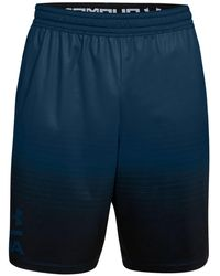 "Under Armour - Mk1 Heatgear® Ombre Performance 9"" Shorts - Lyst"
