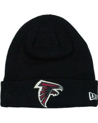 61481062 KTZ Atlanta Falcons Black Metallic Gold 9fifty Snapback Cap in Black for Men  - Lyst