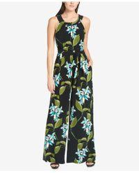 Tommy Hilfiger - Floral-print Jumpsuit - Lyst