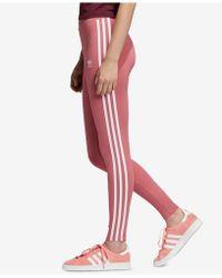 21d4d521a6c adidas Originals Originals Rita Ora 3 Stripe Leggings - Lyst