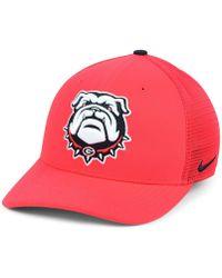 the latest 9e6f5 5aee1 Nike Georgia Bulldogs Aerobill Mesh Cap in Gray for Men - Lyst