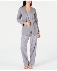 Charter Club - 3-pc. Knit Pyjama Set, Created For Macy's - Lyst