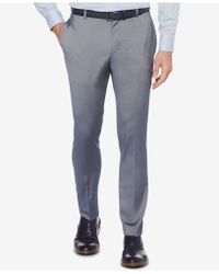 Perry Ellis - Portfolio Extra-slim Fit Stretch Iridescent Tech Dress Trousers - Lyst