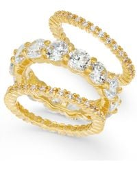 Joan Boyce | 3-pc. Set Crystal Rings | Lyst