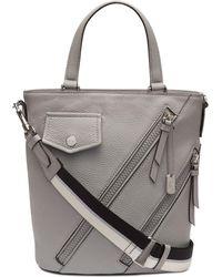 0baf34f5ca Lyst - DKNY Ursa Mastrotto Leather Bucket Bag