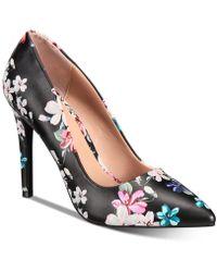 ccc6ea4bc3b Lyst - Call It Spring Gwydda Silver Metallic Court Shoes in Metallic