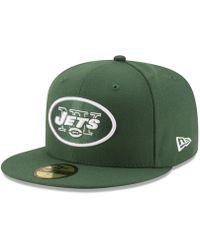 KTZ - New York Jets Team Basic 59fifty Cap - Lyst