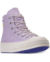 93799b640b98a7 Converse - Chuck Taylor All Star 70 High Top Casual Sneakers From Finish  Line - Lyst
