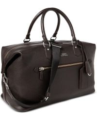 Polo Ralph Lauren - Men's Pebbled Leather Duffel Bag - Lyst