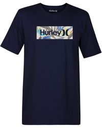 Hurley - One & Only Tropics Logo Graphic T-shirt - Lyst
