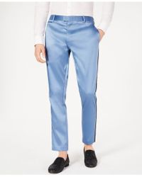 INC International Concepts Slim-fit Tuxedo Trousers, Created For Macy's