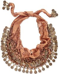 Patricia Nash | Italian Coin Collection Scarf | Lyst
