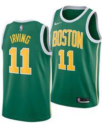 Nike - Kyrie Irving Boston Celtics Earned Edition Swingman Jersey - Lyst 58fa5f1f8