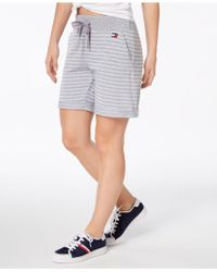 Tommy Hilfiger - Sport French Terry Shorts, Created For Macy's - Lyst