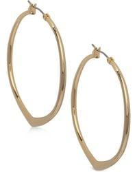 Vera Bradley | Pointed Hoop Earrings | Lyst