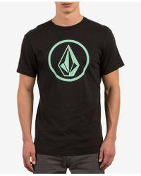 Volcom   Men's Classic Stone Logo-print T-shirt   Lyst