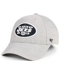 online retailer ae624 ab201 47 Brand - New York Jets Heathered Black White Mvp Adjustable Cap - Lyst