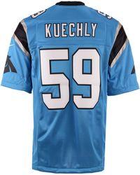 Nike - Men's Luke Kuechly Carolina Panthers Limited Jersey - Lyst
