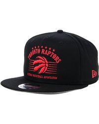 400d1964937 Lyst - KTZ Toronto Raptors 90s Throwback Roadie 9fifty Snapback Cap ...