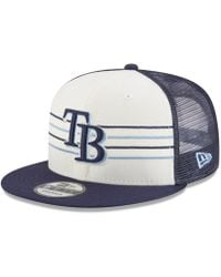 huge selection of de434 5e980 KTZ Tampa Bay Rays Tropic Time 9Fifty Snapback Cap in Black for Men - Lyst
