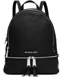 Michael Kors | Michael Rhea Zip Small Backpack | Lyst