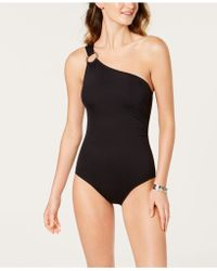Michael Kors - Michael One-shoulder One-piece Swimsuit, Created For Macy's - Lyst