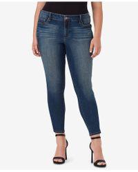 Jessica Simpson - Trendy Plus Size Kiss Me Super Skinny Jeans - Lyst