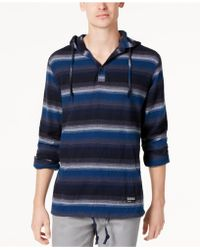 Ezekiel - Men's Steezy Striped Hoodie - Lyst